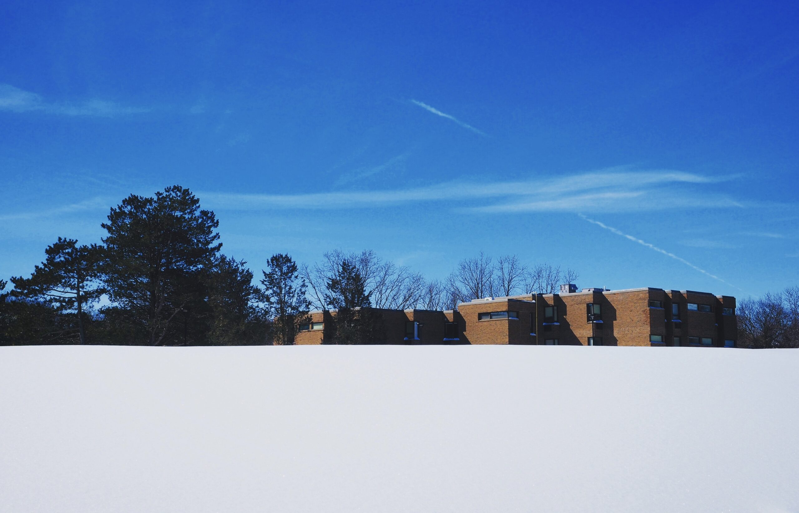 It's another beautiful day at B.C. Matthews hall.